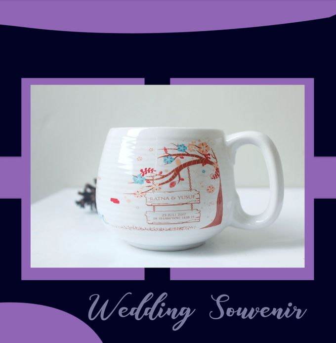 Mug Donat Mini by Mug-App Wedding Souvenir - 001