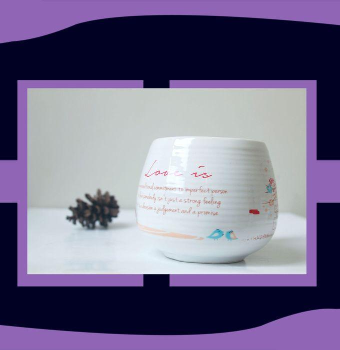 Mug Donat Mini by Mug-App Wedding Souvenir - 003