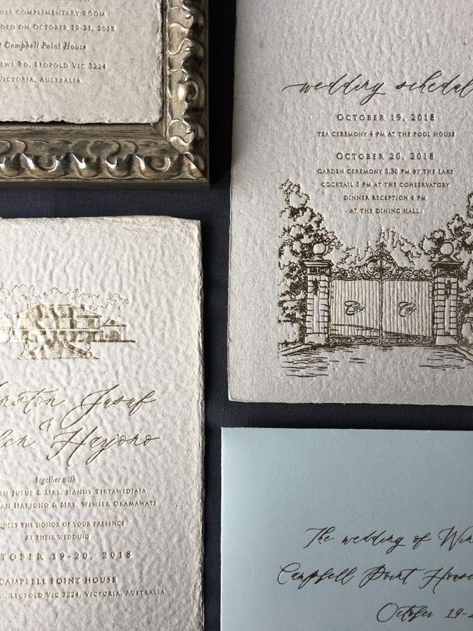 Ellen & Winston Melbourne Wedding by Pemberley Paperie - 004