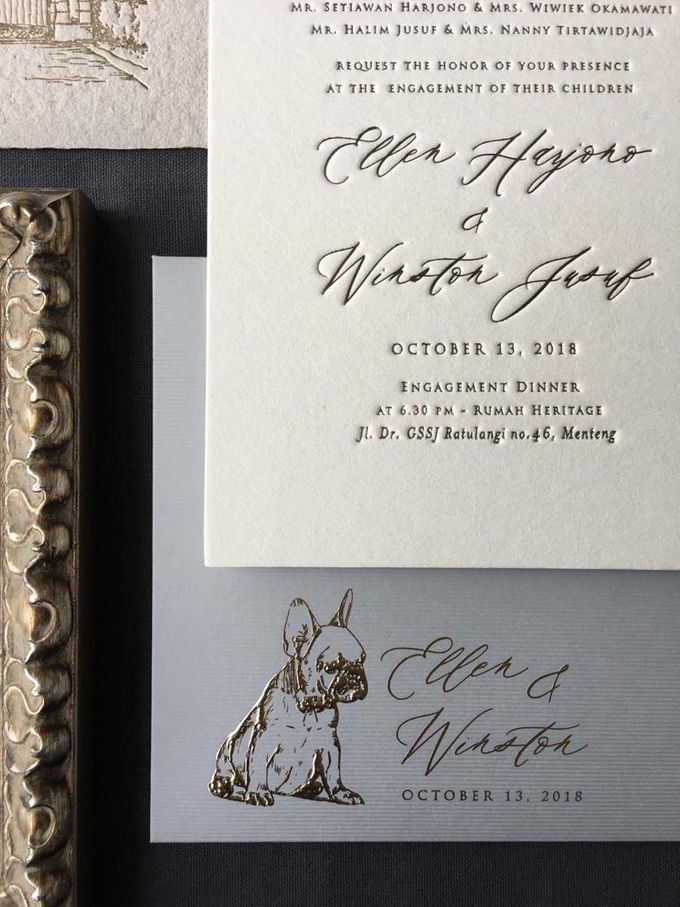 Ellen & Winston Melbourne Wedding by Pemberley Paperie - 006