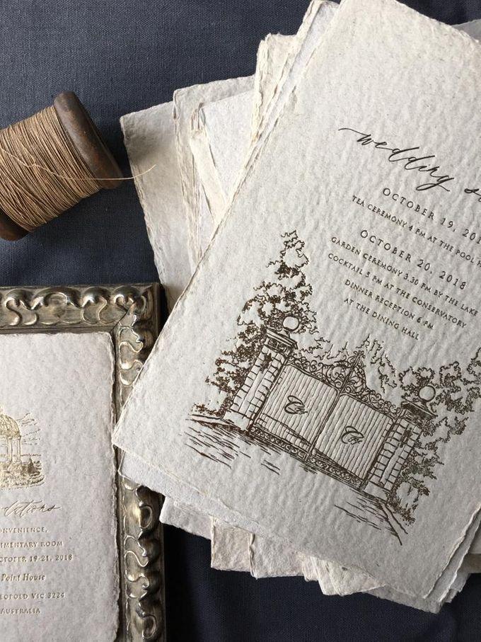 Ellen & Winston Melbourne Wedding by Pemberley Paperie - 005