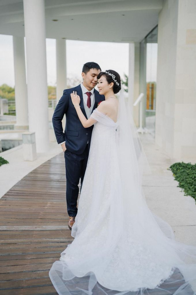 The Wedding Of Alexander & Veriana by Hilton Bali Resort - 022