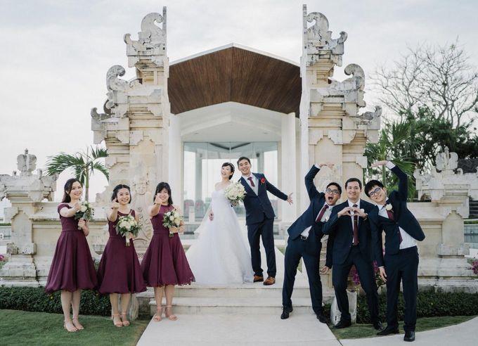 The Wedding Of Alexander & Veriana by Hilton Bali Resort - 019