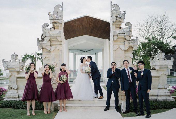 The Wedding Of Alexander & Veriana by Hilton Bali Resort - 017