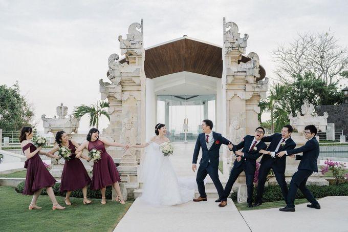 The Wedding Of Alexander & Veriana by Hilton Bali Resort - 016