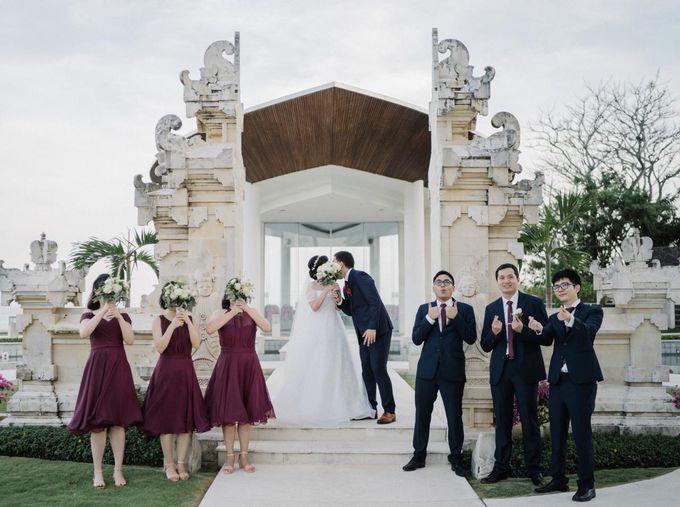 The Wedding Of Alexander & Veriana by Hilton Bali Resort - 018