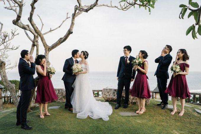 The Wedding Of Alexander & Veriana by Hilton Bali Resort - 020