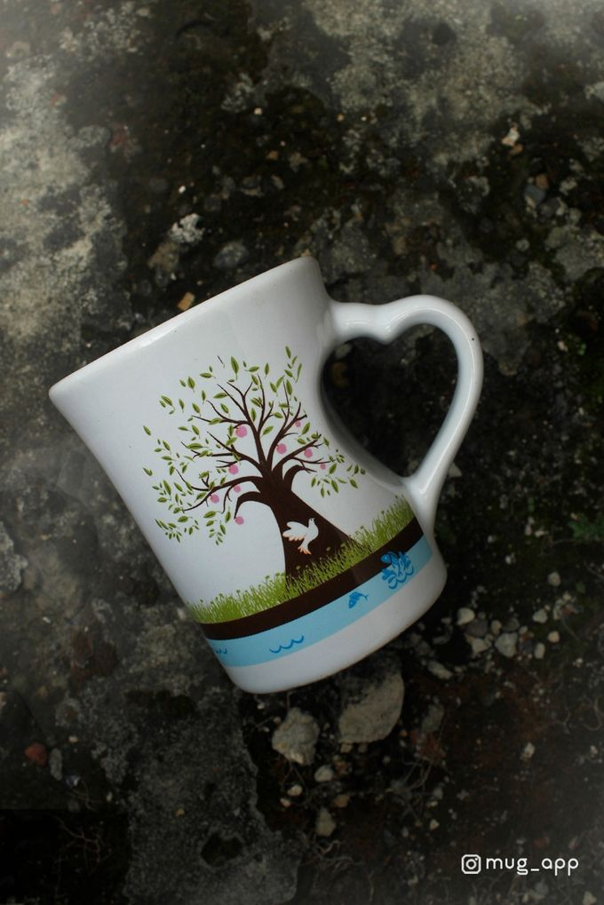 Mug F.mini Love Wedding Dita& Jericho by Mug-App Wedding Souvenir - 001