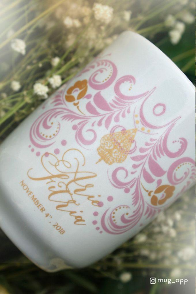 Mug Ocha New Wedding Ario dan Fitria by Mug-App Wedding Souvenir - 001