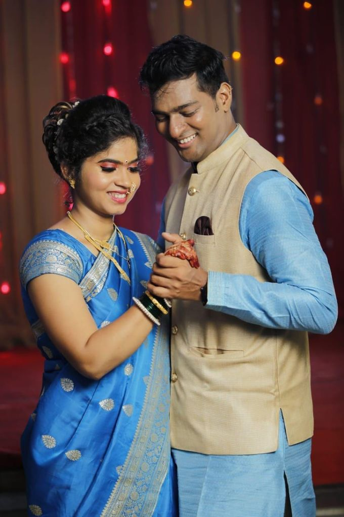 Engagement Makeover by Poojasawantmakeovers - 003