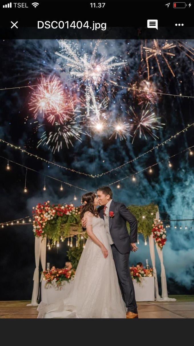 The Wedding Of Alexander & Veriana by Hilton Bali Resort - 036