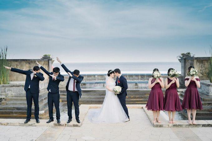 The Wedding Of Alexander & Veriana by Hilton Bali Resort - 021