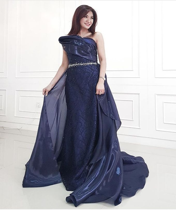 Qipao And Evening Gown by Celra Official - 003