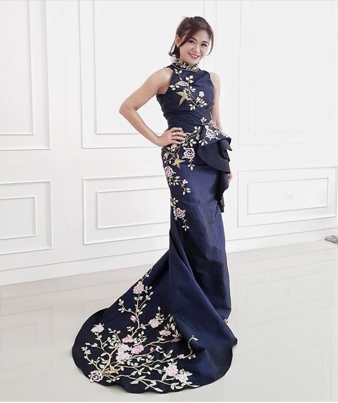 Qipao And Evening Gown by Celra Official - 001