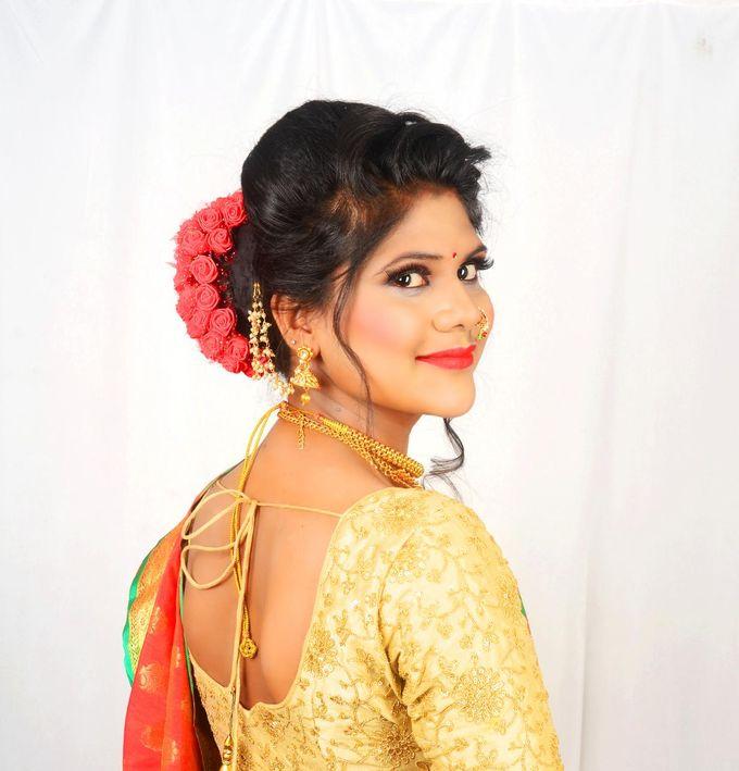 Maharashtrian South Indian Muslim Bridal Look By Sama S