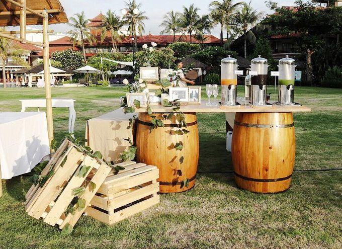 William & Evelin Wedding by Holiday Inn Resort Baruna Bali - 004