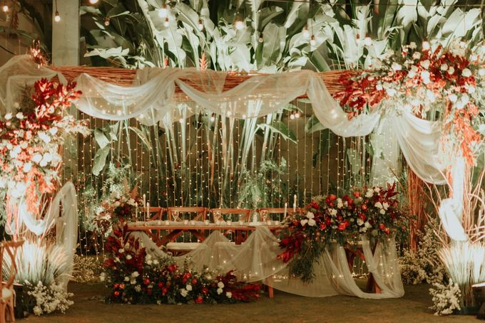 Aldy & Dea Wedding at Bandung by Catalina Flora - 013