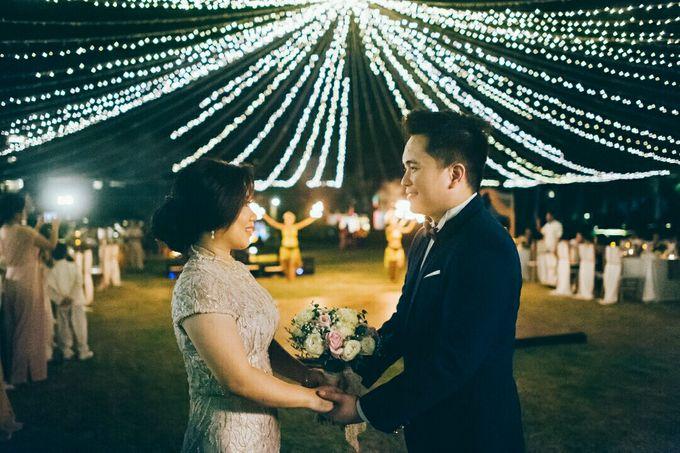 William & Evelin Wedding by Holiday Inn Resort Baruna Bali - 014