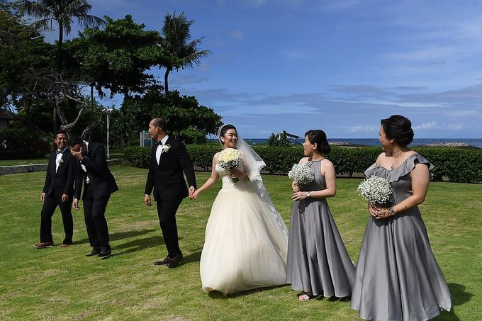 Michael & Ivani Wedding by Holiday Inn Resort Baruna Bali - 002