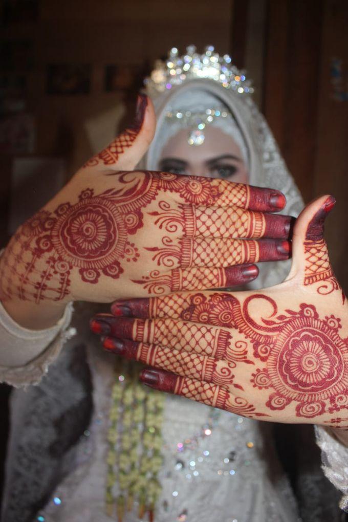Red Henna by Ikkie henna art - 006