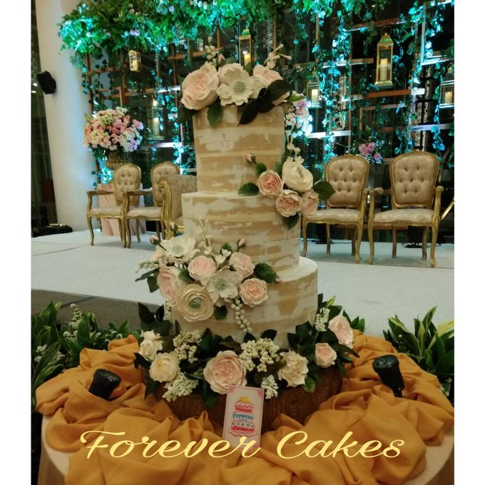 Rustic Wedding Cake by FOREVER CAKE - 005