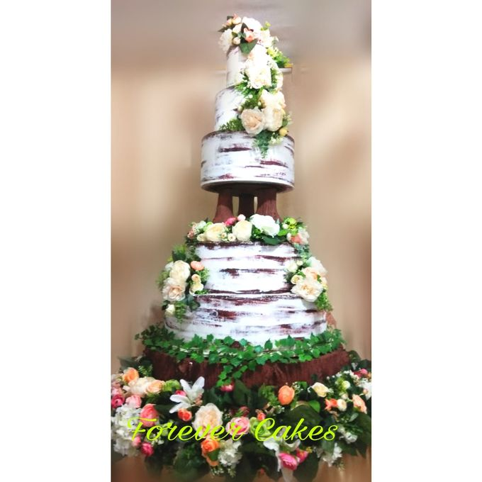 Rustic Wedding Cake by FOREVER CAKE - 004