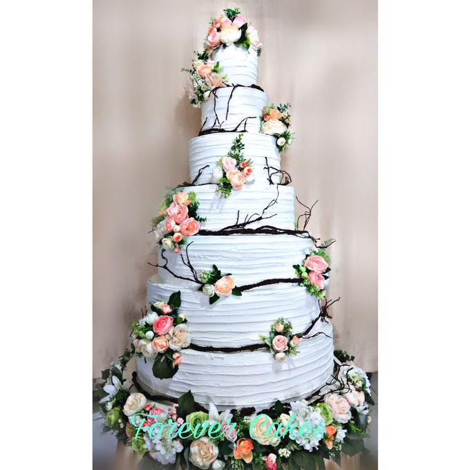 Rustic Wedding Cake by FOREVER CAKE - 010