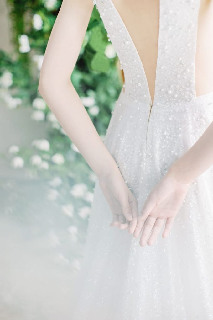 wedding dress by LECIEL DESIGN - 004