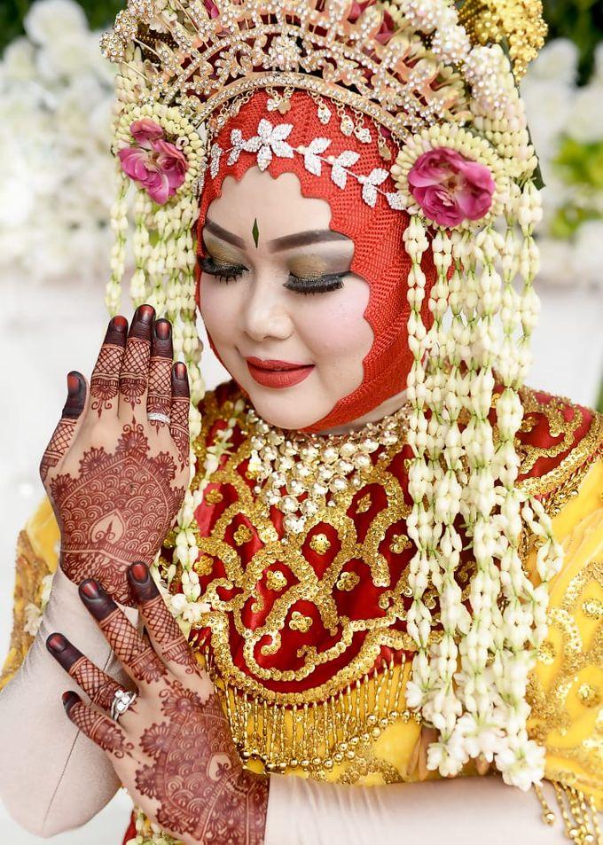 Red Henna by Ikkie henna art - 008