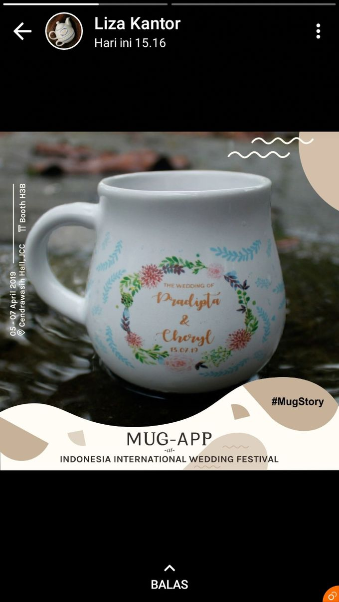 Wedding Pradipta&Cheryl by Mug-App Wedding Souvenir - 002