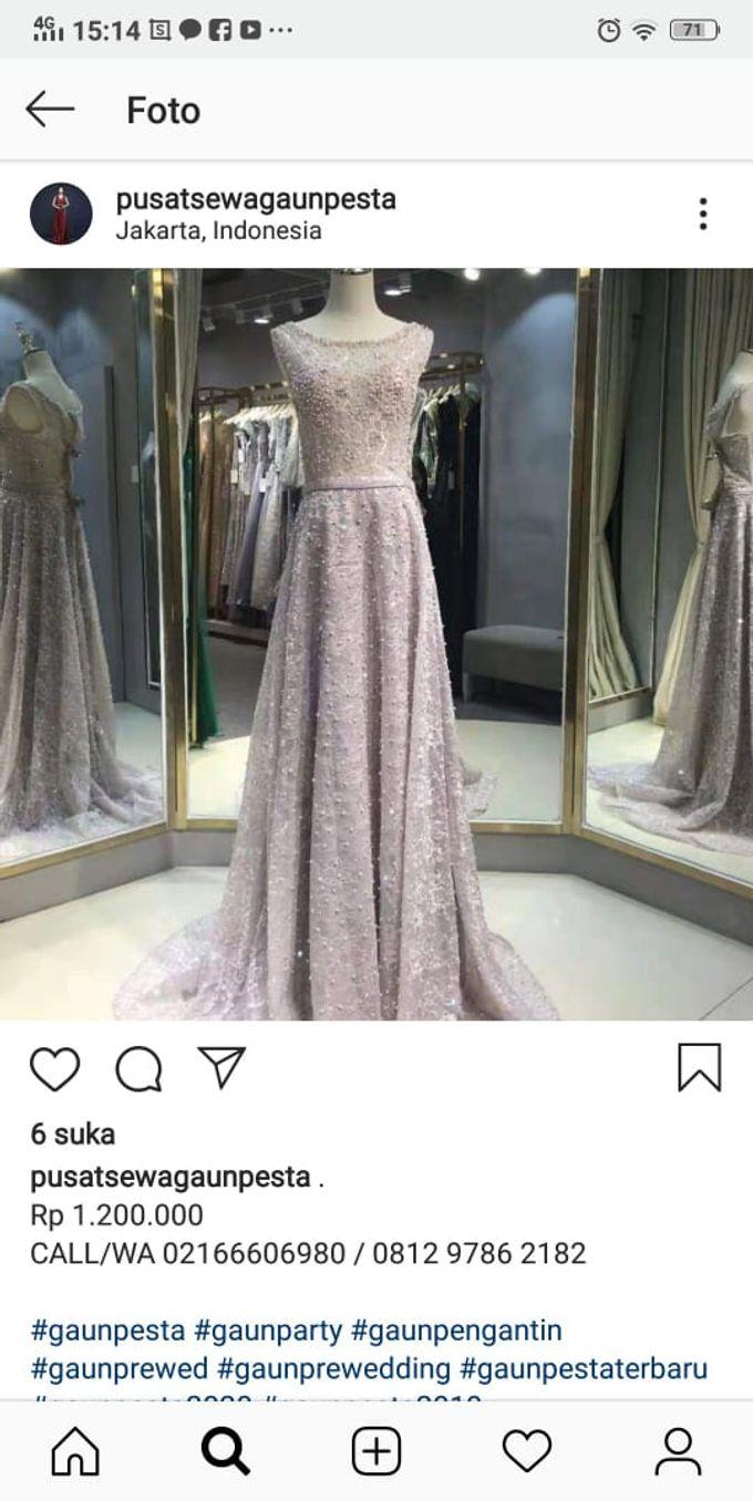 Gaun PESTA disewakan by Sewa Gaun Pesta - 016