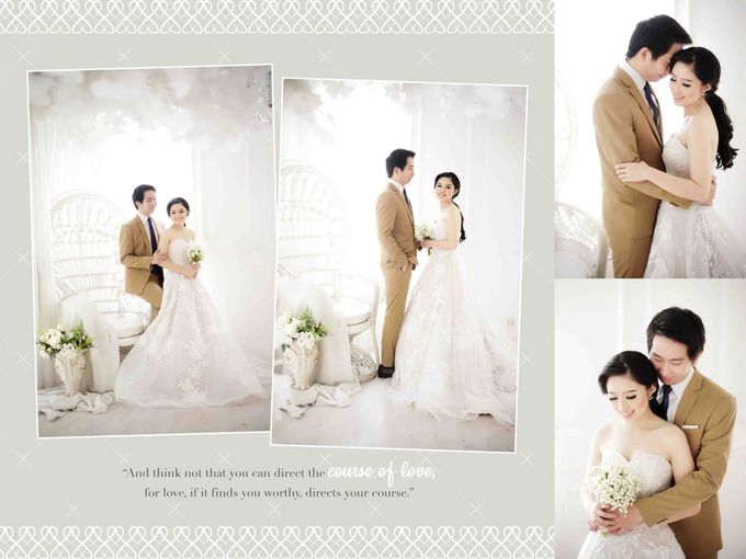 LOVE bears all things ❤ by Gorgeous Bridal Jakarta - 004