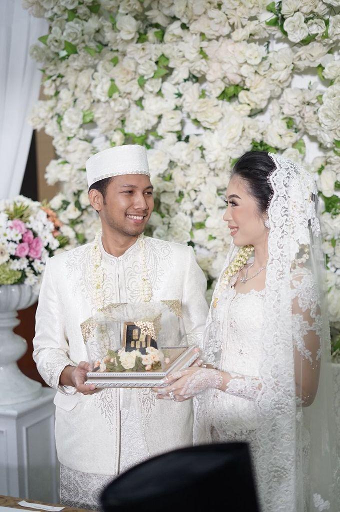 Risyad & Monica,  Akad Nikah & Munggah by Alfabet Catering - 001