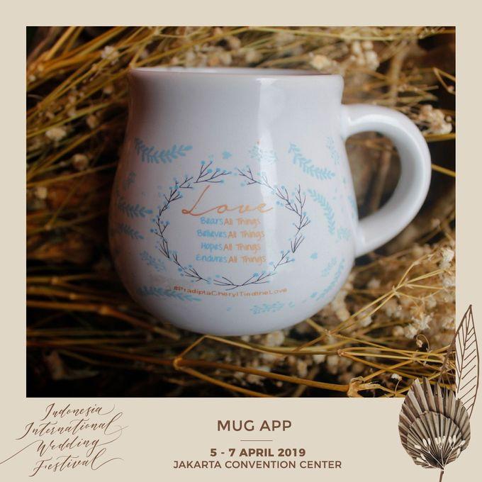 Mug Gentong Wedding Cheryl & Pradipta by Mug-App Wedding Souvenir - 001