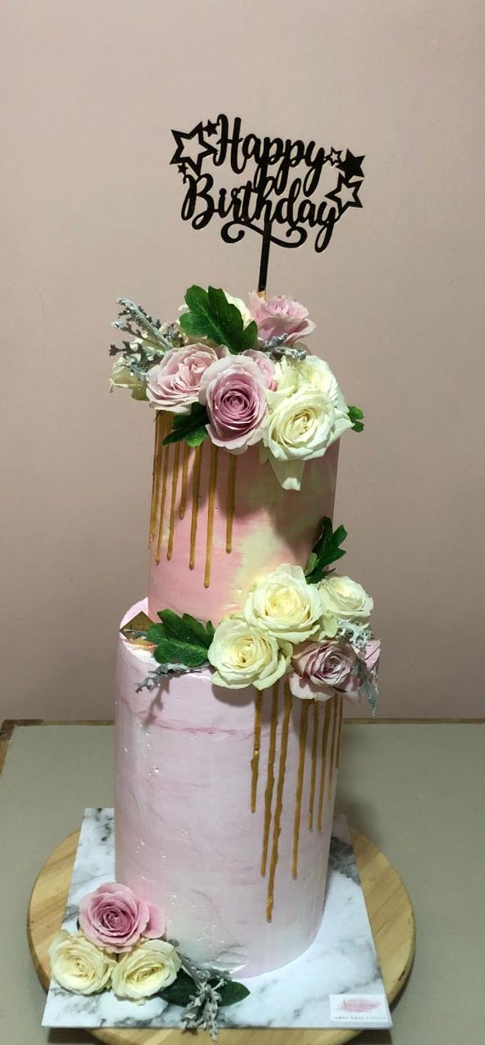 Tiers Cake by FIOR FIORE Patisserie - 006