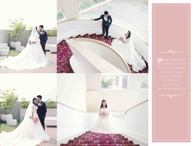 My ❤ is perfect, because You are inside... by Gorgeous Bridal Jakarta - 002