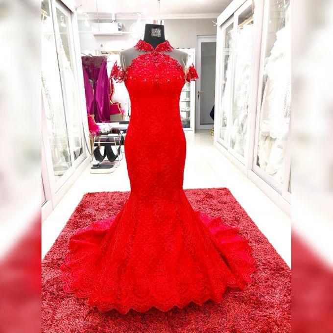On Progress Custom Cheongsam Dress by D BRIDE - 005