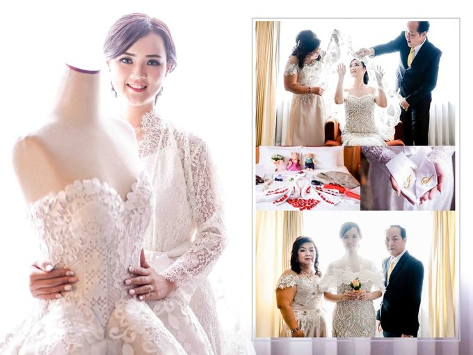 I do believe in one true LOVE ❤ by Gorgeous Bridal Jakarta - 001