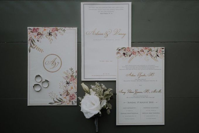 The Wedding of Ms. Ivanny by Tiffany's Flower Room - 003