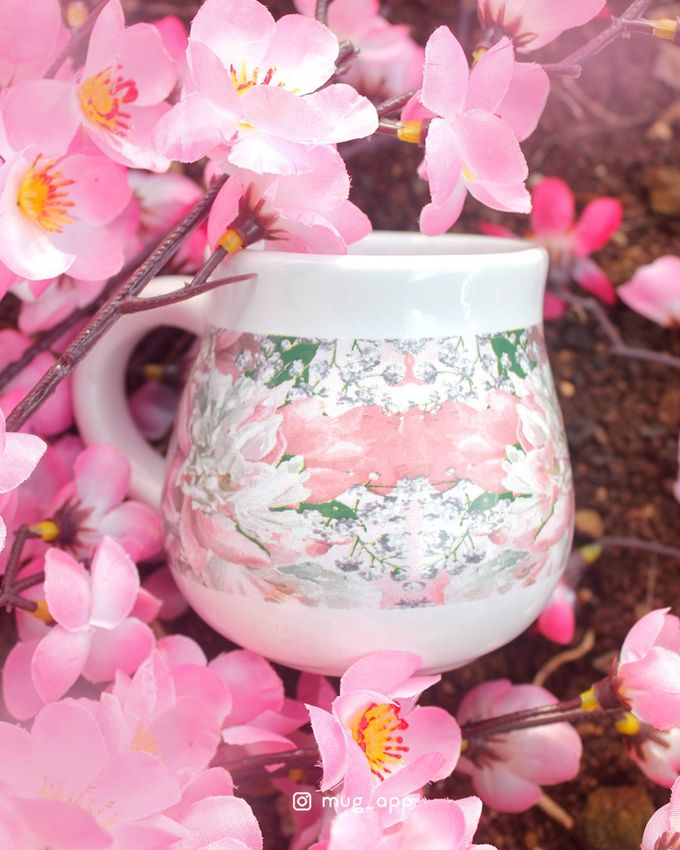 Tekio Susun Dan Mug Gentong Exclusive Full Sakura by Mug-App Wedding Souvenir - 003