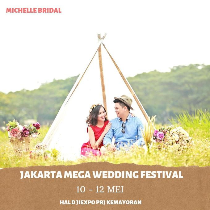 Jakarta Mega Wedding Festival by Michelle Bridal - 001