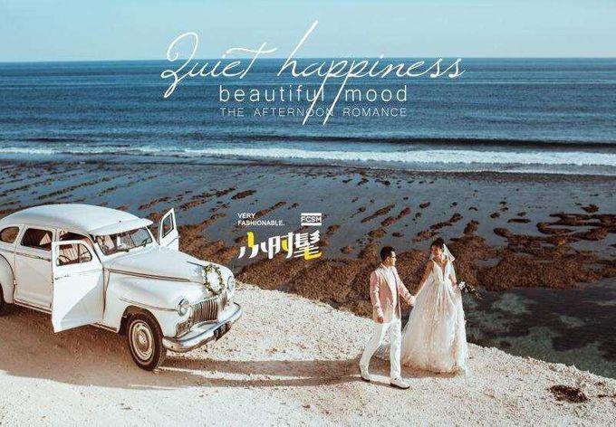 White Classic Car by Bali Classic Community - 002