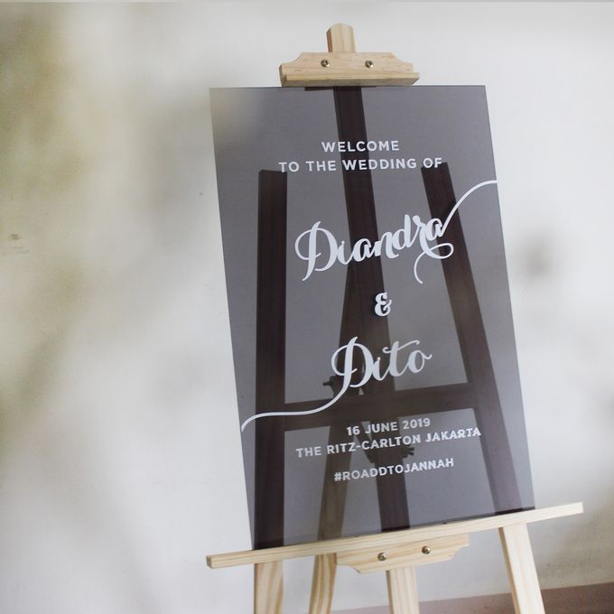 Wedding Sign by The White Dove - 014