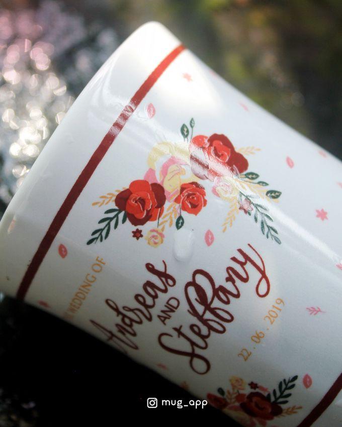 Mug F.mini Love Wedd. Andreas&Steffany by Mug-App Wedding Souvenir - 001