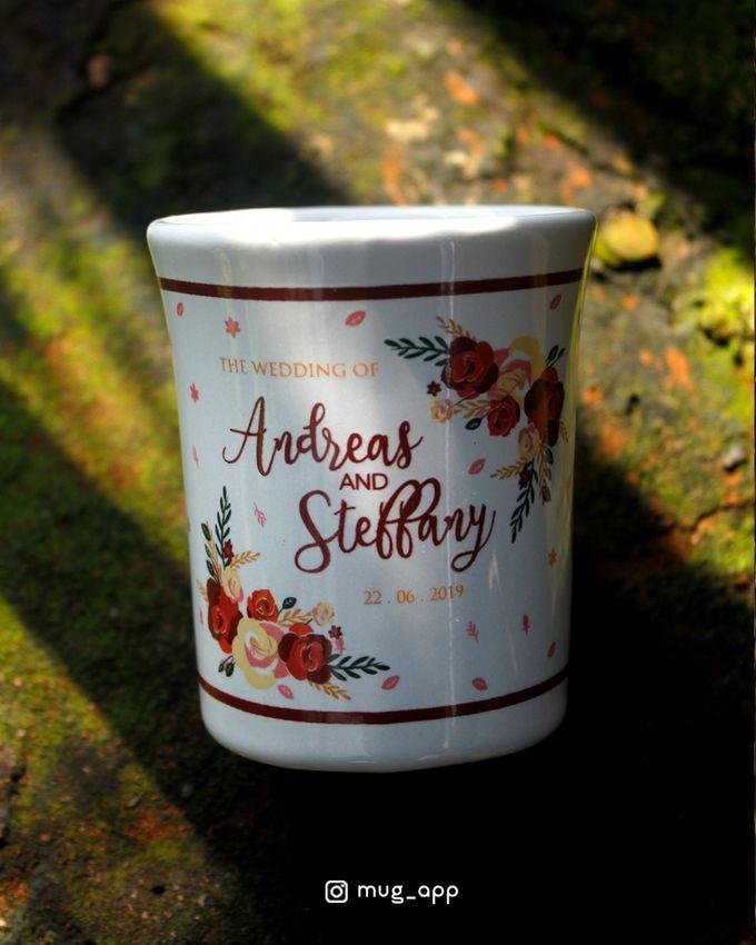Mug F.mini Love Wedd. Andreas&Steffany by Mug-App Wedding Souvenir - 004