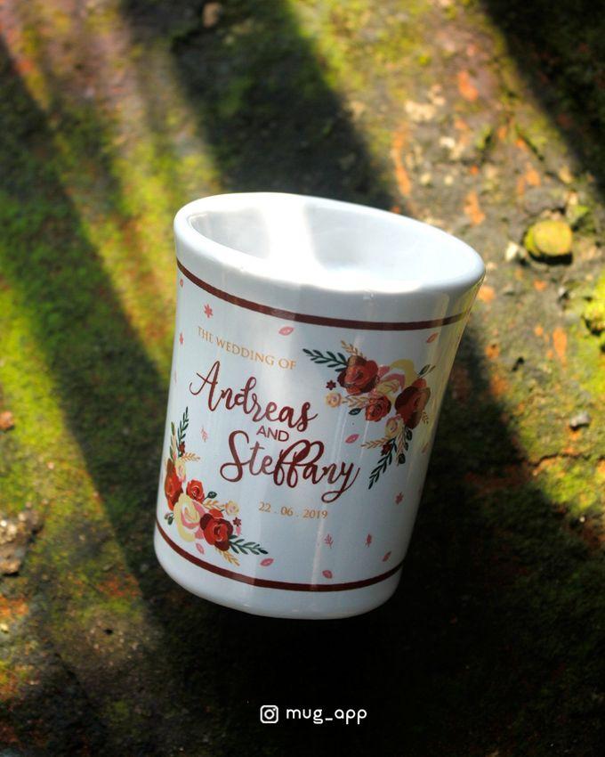 Mug F.mini Love Wedd. Andreas&Steffany by Mug-App Wedding Souvenir - 003
