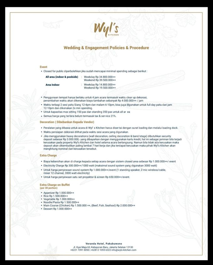 Menu  by Wyl's Kitchen - 007