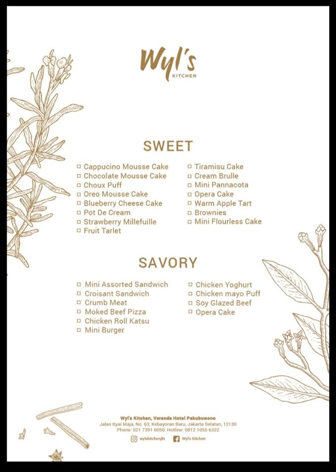 Menu  by Wyl's Kitchen - 003