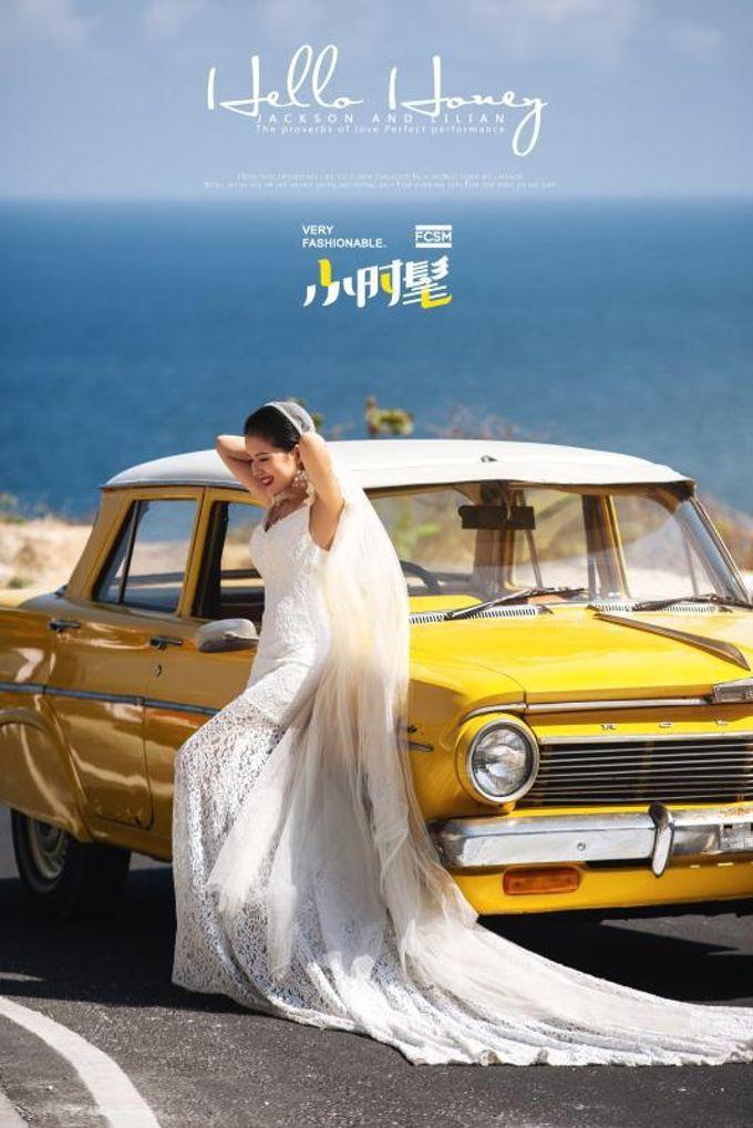 Yellow Classic Car by Bali Classic Community - 012