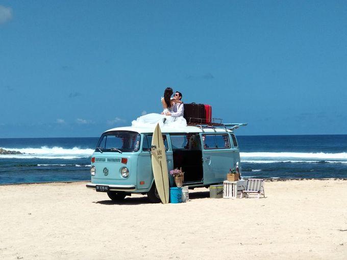 Blue Classic Car by Bali Classic Community - 010